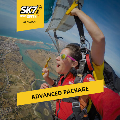 skydive seven algarve advanced photo package