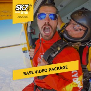 skydive seven algarve base video package