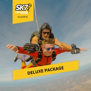 skydive seven algarve deluxe photo package