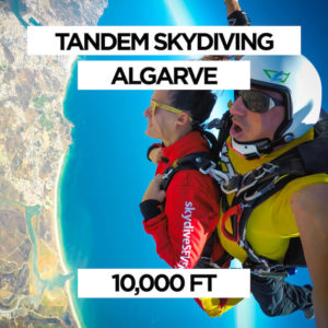 Tandem Skydiving Algarve 10,000 ft