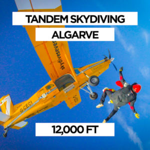 Tandem Skydiving Algarve 12,000 ft