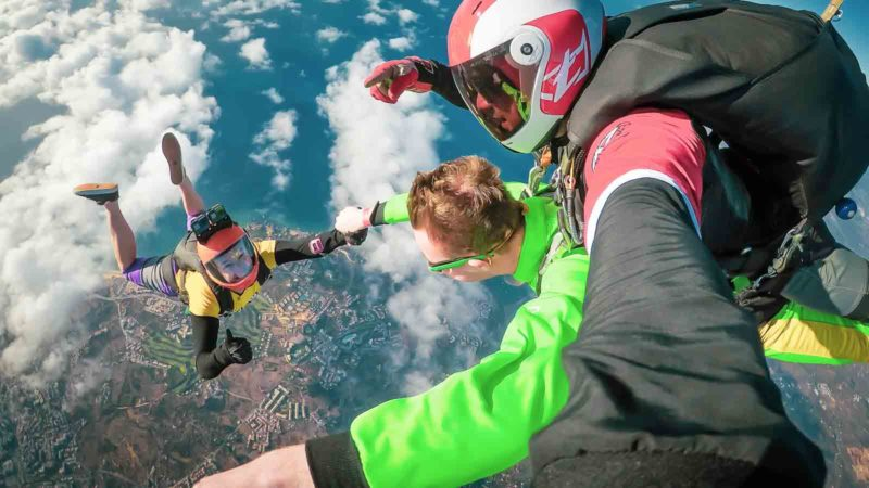 Tandem Skydiving Pictures and Video Skydive Seven Algarve
