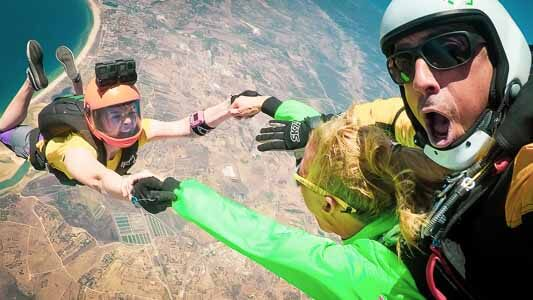 What is a Tandem Skydive at Algarve by Skydive Seven Portugal