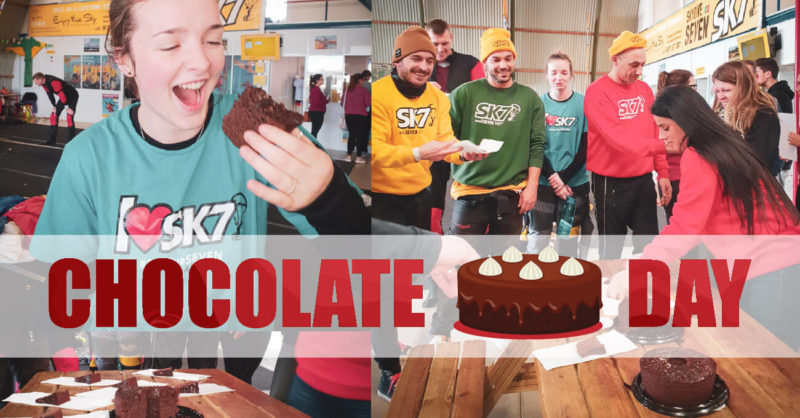 skydive seven Chocolate Cake Day