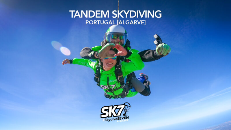 Your Best Holidays Experience: Tandem Skydiving Algarve Skydive Seven Portugal